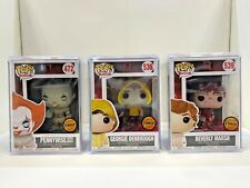 FUNKO POP! MOVIES: IT PENNYWISE WITH BOAT CHASE RARE MINT PLUS 2 MORE CHASE