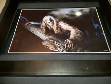 Ozzy Osbourne Bark At The Moon Rare Original Radio Promo Poster Ad Framed!
