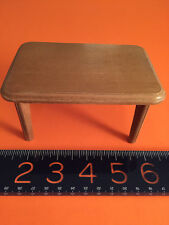 BODO HENNIG WOOD DOLL HOUSE DINING ROOM TABLE c.1950's- 60's Germany