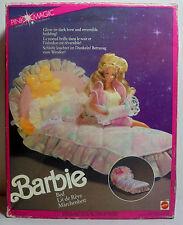 MATTEL VTG 1991 BARBIE PINK MAGIC BED # 5620 EUROPEAN ITALY UNUSED MIP NO FOAM