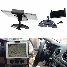 Car CD Mount Tablet PC Auto Cradle Holder Stand For iPad 5 4 3 2 Air Galaxy Tab