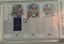2008-09 Between The Pipes 1/1 Goaltending Evolution GE01 Patrick Roy/Carey Price