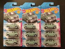 Hot Wheels 2021 HW Drift Dodge Van - NEW FOR 2021 x 9!!!