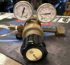 Used Agilent 5183 4642 Laboratory Regulator Hydrogen Cga 350 125 Psi Output