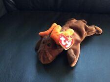 Neu Bean Bags Beanie Original Baby TY Elch Chocolate aus Sammlung
