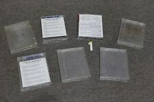 """Pack de 7 cajas vacías de 3"""" para discos Amstrad CPC PCW Spectrum (LOTE 01)"""