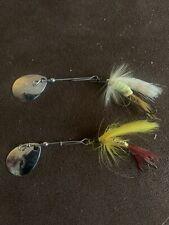 New listing 2 Vintage Hildebrandt Spinner Fly Fishing Lures #3