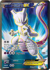 x1 Mewtwo-EX - 157/162 - Full Art Ultra Rare Pokemon XY Breakthrough M/NM