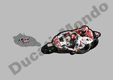 MotoGP # 58 Marco Simoncelli Gresini Honda Llavero FOB Super Sic Bicicleta Casa Regalo