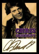 Chris Bennett Autogrammkarte Original Signiert ## BC 95787
