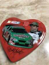 Bobby Labonte #18 HEART SHAPED COLLECTIBLE TIN No CANDY JUST TIN