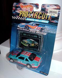 1992 Hot Wheels Pro Circuit Richard Petty 1/43 STP Pontiac ERROR Packaging - MOC