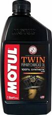 Motul 4T Twin Synthetic Primary and Chain Case Oil 108066 1 Quart