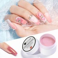 2-in-1 UR SUGAR 15ml Acrylic Powder Colorful Nail Art Extension Carving Powder
