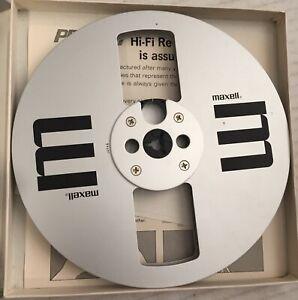 maxell metal reel to reel tape