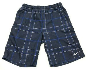 Nike Board Shorts Mens Size Medium M Blue Bathingsuit Swimming Shorts Beach Pool