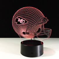 Kansas City Chiefs KC Patrick Mahomes Collectible NFL Superbowl Light Lamp