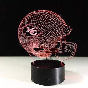Kansas City Chiefs KC Patrick Mahomes Collectible Home Decor Light Lamp Gift
