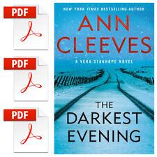 The Darkest Evening: A Vera Stanhope Novel by Ann Cleeves