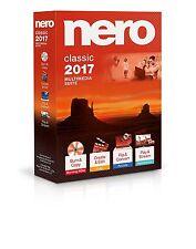 Nero 2017 Classic Multimedia Suite for Windows – Sealed Retail Box, New