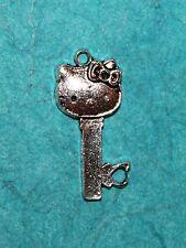 Pendant Hello Kitty Charm Kitty Charm Cat Key Charm Hello Kitty Key Pendant Cat