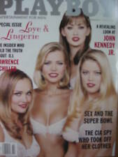 LOVE & LINGERIE SPECIAL 2/97 Playboy JOHN KENNEDY JR.
