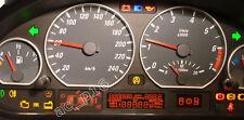 BMW E46 kein Tacho, nur Cluster Display Anzeige Anzeigeglas ohne Pixelfehler
