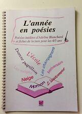 . EBLA  Maternelle COMME RETZ L ANNEE EN POESIES  4 à 5 ANS