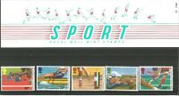 Royal Mail Mint Sport Stamps Set of 5 Presentation Pack No 173 July 1986 Z6989