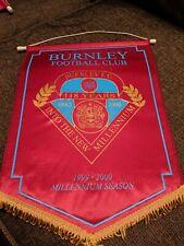 Burnley FC Pennant Millennium