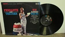 FERRANTE & TEICHER You Asked For It, orig vinyl LP, 1966, VG+, cheesecake, USPS