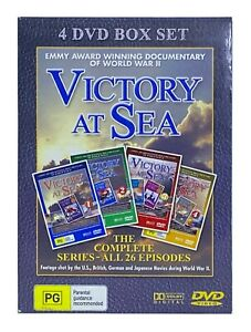 Victory At Sea : Vol 3 (DVD, 2003) 4 DVD Box Set - VERY GOOD CONDITION!!