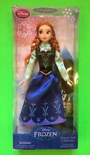 NEW! Disney Frozen ANNA Classic Doll Collection Girls Gift! Sister Princess Elsa