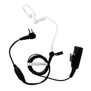 HIGH QUALITY PROFESSIONAL KEVLAR EARPIECE FOR 2 PIN MOTOROLA RADIOS