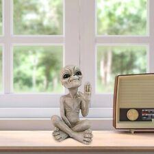 Outdoor Statue Garden Table Figurine Home Décor 15cm Alien figure indoor quality