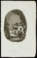 1834 - Gravur auf L'Imagination - Jacques De Vries - Maler, Künstler