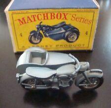 Matchbox Regular Wheel 4C Triumph with Sidecar BPW 1960