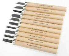 Midwest Products 3803 Carving Knives Set (10 Knives) for Almost Any Project