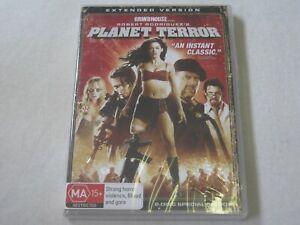 Planet Terror - Extended Version - Brand New & Sealed - Region 4 - DVD