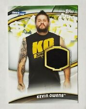 2019 Topps Smack Down Live Shirt Relic Kevin Owens /199