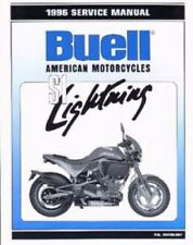 1996 Buell S1 Lightning Motorcycle Service Manual : 99490-96Y
