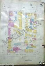 Orig 1931 Newark New Jersey NJ  Sanborn Maps  (2)Verona-Montclair Ave. Atlas Map