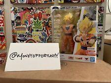 S.H. Figuarts Dragon Ball Z Super Saiyan Full Power Son Goku Figure Authentic