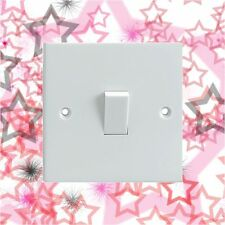 Rosa patrón de estrellas Eléctrica Interruptor De Luz envolvente Impreso pegatina de vinilo