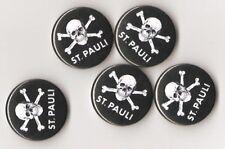 1x St. Pauli Button Punk Antifa Ultra Ultras Hool Skin RASH Antifascist GNWP AFA