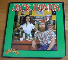 Jack Bonus 1972 Grunt LP Jack Bonus w/ 'Extra Added Bonus' Lyrics Insert Booklet