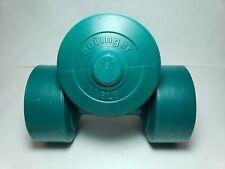Set of 2 Bollinger Green Plastic 8 lbs Dumbbells 16 lbs total 3.64 kg Pair