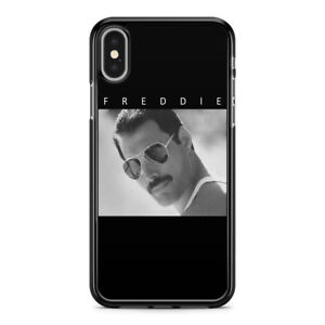Queen Freddie Mercury Tribute Black and White case for iPhone XS