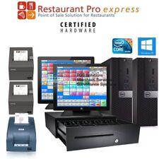 pcAmerica 2 Station Rpe Restaurant Pro Express Quick Service Pos New - I3/4Gb