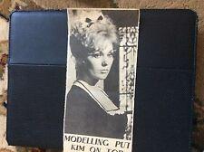 c4-2 ephemera 1960s article im novak star of the week